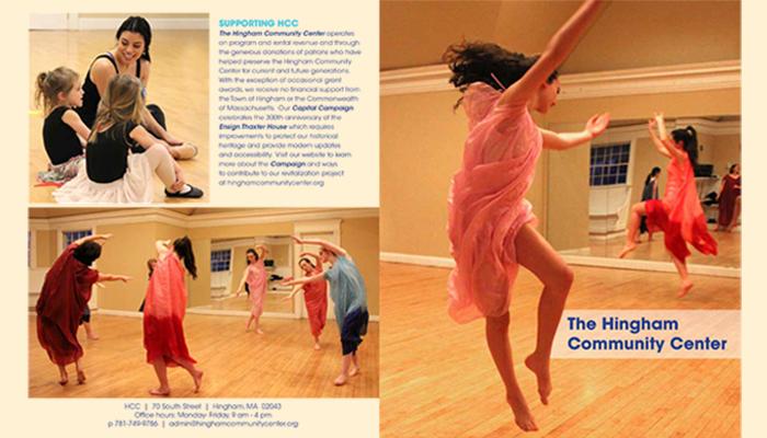 Hingham Community Center dancers