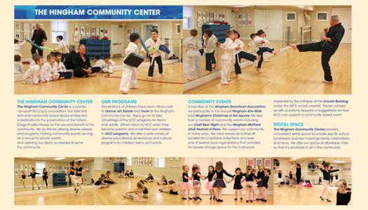 Hingham Community Center events