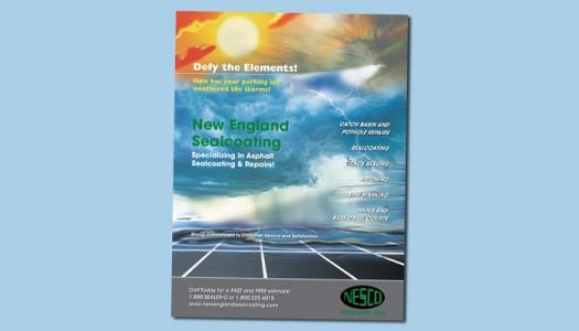 New England Sealcoating flyer