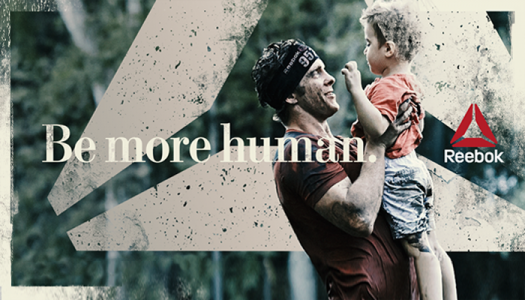 PhotoShop Effects man with child-Artwork Supplied-Reebok Wall Graphics