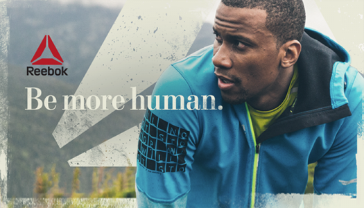 PhotoShop Effects man athlete-Artwork Supplied-Reebok Wall Graphics