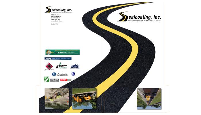 Sealcoating Inc. pocket folder