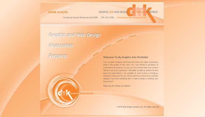 dmk design concepts_draft mock-up website